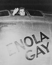 "Col. Paul W. Tibbets Jr Enola Gay pilot 8""x 10"" World War II Photo Picture #179"