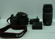 Canon EOS 77D SLR Digital Camera W/75-300 lens