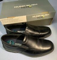 Nunn Bush Men's Lamont Moc Toe Dress Slip-On Shoe sz 9