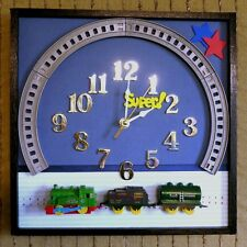 Children's Train Wall Clock, Nursery Décor or Baby Shower Gift