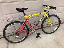 """1992 GT Karakoram All Terra Mountain Bike 21 speed 26"""" wheel Neon Survivor bmx"""