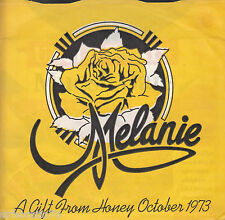 MELANIE A Gift From Honey October 1973 45 - Flexi-Disc