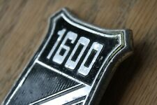 FORD 1600 BADGE - GENUINE ORIGINAL PART - ESCORT CAPRI CORTINA?
