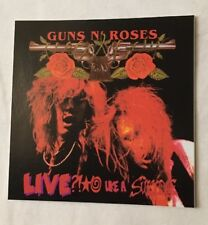 "Guns N Roses Sticker ""Live Like Suicide"""