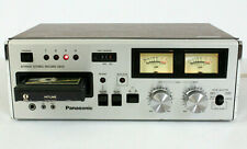 Panasonic Rs-808 Vintage Stereo 8 Track Tape Deck. (Refurbished) *Video*