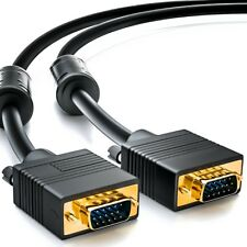 15m S-VGA Monitorkabel 15 m SVGA Monitor Kabel HD