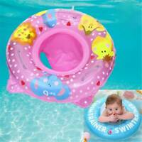Baby Kids Inflatable Float Swimming Ring Trainer Safety Aid Pool Water Toy J