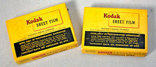 VINTAGE 6X9 KODAK COMMERCIAL ORTHO SAFETY FILM