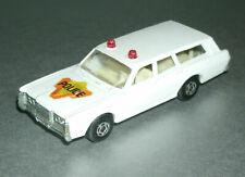 1/64 Scale 1968 Mercury Commuter Wagon Police Car - Matchbox SuperFast No. 55