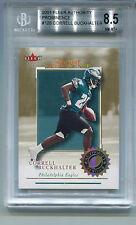 2001 Fleer Authority Prominence #128 Correll Buckhalter/25 Rookie BGS 8.5