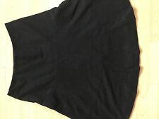 BODEN  black wool skater   skirt  size 6