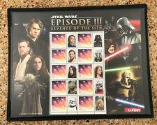 2012 Australia Star Wars Episode Iii Revenge of The Sith Sheet Mnh