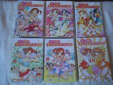 LOT Go ! Tenba Cheerleaders 1 2 3 4 5 6 tomes DOKI DOKI MANGA  no SERIE COMPLETE