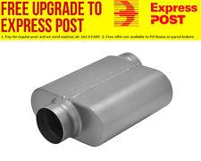 "Flowmaster 10 Series Delta Force Race Muffler 3-1/2"" Offset Inlet / Ceneter Outl"