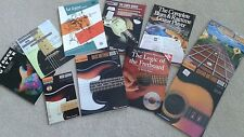 Guitar Instruction Books (10) Pre-owned