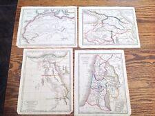 1821 MAPS EGYPT/AFRICA/PALESTINA/ARMENIA/DRAWN & ENGRAVED SIDNEY HALL