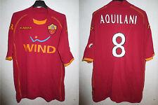 Maillot A.S ROMA Kappa moulant AQUILANI 8 maglia calcio shirt Wind XXL scudetto
