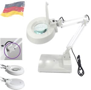 NEU LED Lupenleuchte 10 Dioptrien 22W Arbeitsleuchte Lupenlampe Lupe Kaltlicht