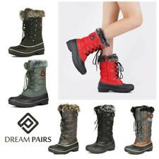 DREAM PAIRS Women Waterproof Winter Snow Boots Faux Fur Lined Warm Boots