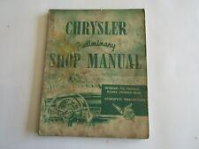 Chrysler Service Réparation Atelier Manuel