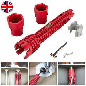 8IN 1 Faucet&Sink Installer Multi Tool Pipe Wrench For Plumbers Homeowners