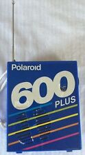 Polaroid 600 Plus Retro 90's RADIO - Runs On Used Film OR Batteries!