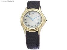 Cartier Cougar fecha de oro