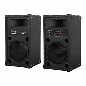 Frisby Amplified Speaker System Party Machine w/Bluetooth FM Radio USB SD Remote