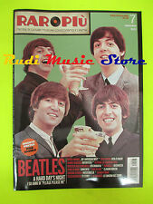 rivista RARO PIU' 7/2013 POSTER Pino Daniele Beatles Rita Pavone Arbore No cd