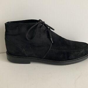 Reiss mens Comfort Ankle Boots Leather Black UK8/EUR 42 US 9