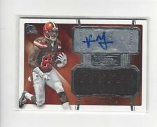 2015 Donruss Signature Series #462 Vince Mayle RC AUTOGRAPH JERSEY Browns