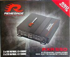 Renegade Rxa550 550 00006000  Watts 2-Channel Car Amplifier