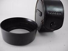 Topcon UV Topcor 53mm F2 35mm F3.5 Screw In 55mm Plastic Lens Shade/Hood PERFECT