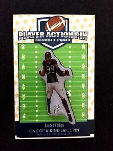 Houston Texans J.J. Watt jersey lapel pin-Classic Collectible-#1 Best Seller
