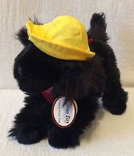 Curto Toy Plush Jake The Salty Dog Cafe Black Dog Tags