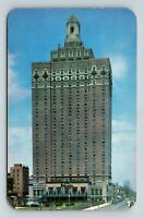 Atlantic City NJ, The Claridge Hotel, Skyscraper, Chrome New Jersey Postcard