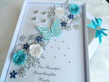 Handmade Personalised Birthday Card Anniversary Any Age, 21, 30 50, 60, Gift Box