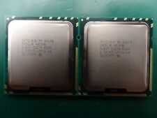 Matched Pair Intel Xeon Processor CPU SLBV7 X5670 2.93GHz 6 Core 12MB 6.4GT/s