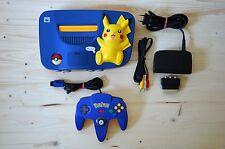 N64 - Nintendo 64 Konsole Pokemon Pikachu mit Original Controller