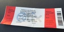 2016 Sleeping With Sirens Full Concert Ticket The Rave Eagles Club Milwaukee,Wi