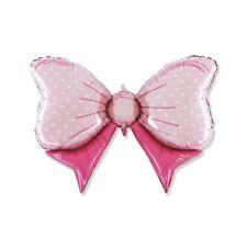 "Palloncino mylar ""Fiocco rosa"" Cm. 108x72 - Blister singolo"