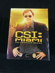 CSI Miami Seasons 1-10 Brand New Factory Sealed on DVD Collection