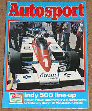 Autosport 1/5/80* NURBURGRING F2 - DTV CHEVETTE HSR FEATURE - PIQUET'S FIRST WIN