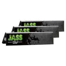 Lot de 25 carnets de grandes Feuilles Slim Jass Black King Size New Edition