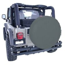"""New Jeep Wrangler Cj Yj Tj Jk 55-14 Tire Cover 30-32"""" Black Denim X 12802.15"""