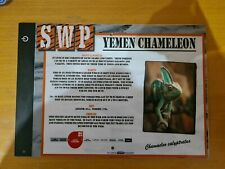 More details for sandwich wildlife park nocturnal animal sign (yemen chameleon)