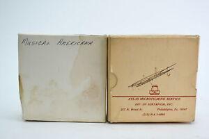 Vintage Musical Americana Music Microfilm Roll Film 35mm Set of 2