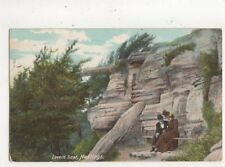 Lovers Seat Hastings Vintage Postcard Hartmann 692a