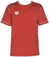 MAGLIETTA COTONE T-SHIRT BAMBINO/A PALESTRA ARENA JUNIOR TL S/S TEE 1D360 40 RED