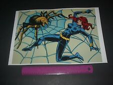 MARVEL COMICS THE BLACK WIDOW AVENGERS RETRO POSTER PIN UP